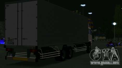 Mitsubishi Fuso The Great Box para la visión correcta GTA San Andreas