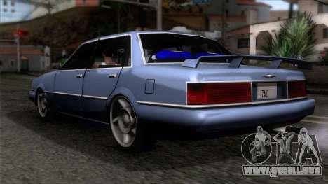 Primo GT para GTA San Andreas left