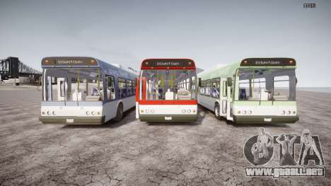GTA 5 Bus v2 para GTA 4 vista superior