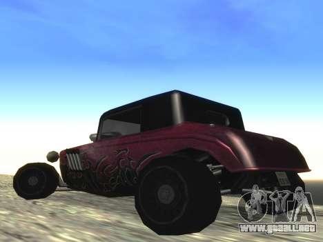 Actualizado Hotknife para GTA San Andreas vista posterior izquierda
