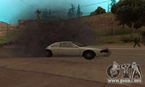 New Effects Paradise para GTA San Andreas tercera pantalla