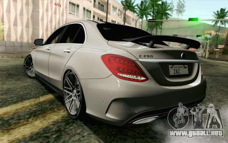 Mercedes-Benz C250 AMG Brabus Biturbo Edition para GTA San Andreas left