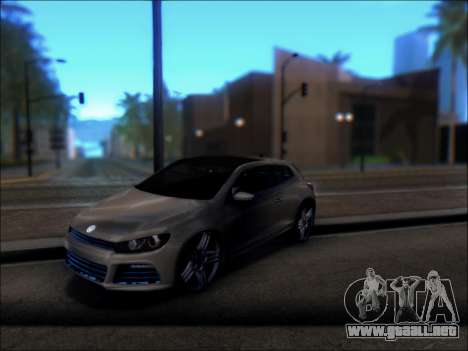 Volkswagen Scirocco Tunable para la visión correcta GTA San Andreas