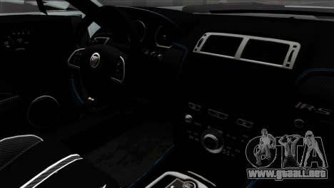 Jaguar F-Type para la visión correcta GTA San Andreas