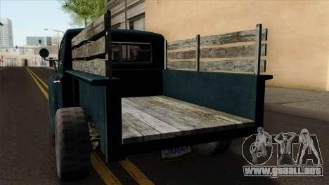 GTA 5 Bravado Rat-Loader para GTA San Andreas vista hacia atrás
