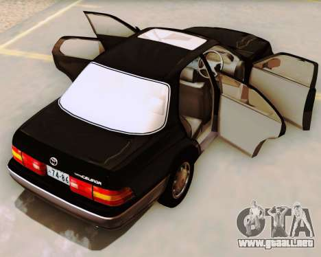 Toyota Celsior para visión interna GTA San Andreas