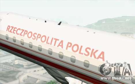 Embraer EMB-175 Republic Of Poland para la visión correcta GTA San Andreas