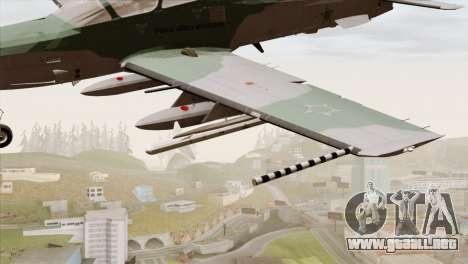 Embraer A-29B Super Tucano FAB para la visión correcta GTA San Andreas