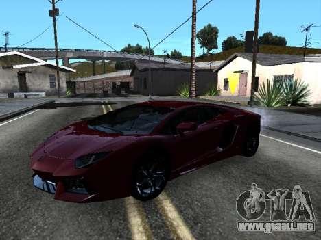 Lamborghini Aventador Tron para el motor de GTA San Andreas