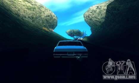 ENB Series para baja y Media de la PC para GTA San Andreas tercera pantalla