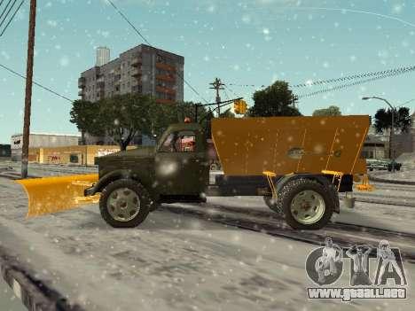 GAS 51 sopladora de nieve para GTA San Andreas left