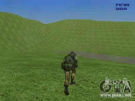 Un luchador de Esparta batallón para GTA San Andreas sexta pantalla