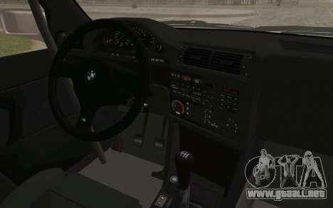 BMW M3 E30 2015 para la visión correcta GTA San Andreas
