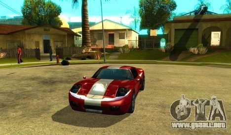 ENB para PC de bajos para GTA San Andreas