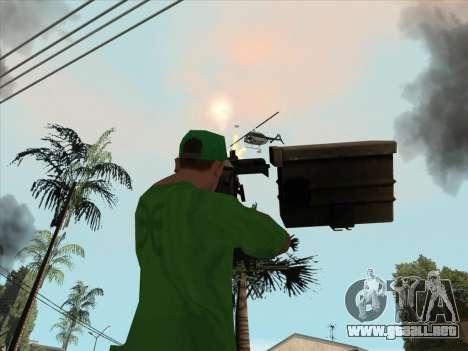 CABLE de Battlefield 3 para GTA San Andreas sexta pantalla