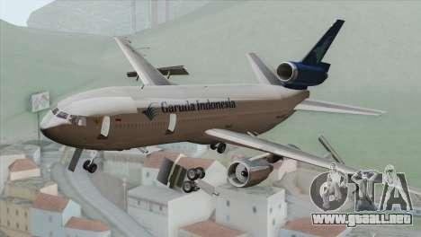 DC-10-30 Garuda Indonesia para GTA San Andreas