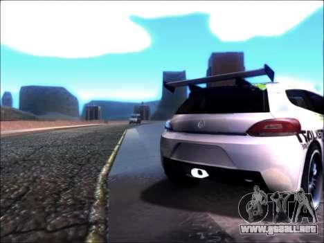 Volkswagen Scirocco Tunable para GTA San Andreas left