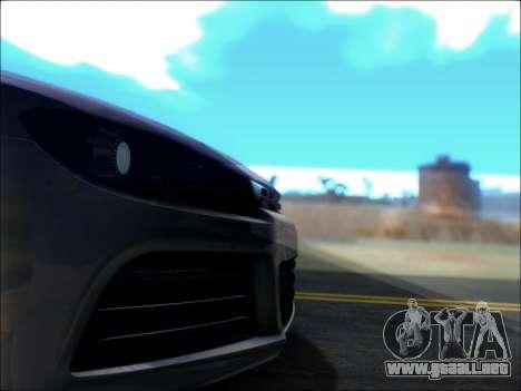 Volkswagen Scirocco Tunable para la vista superior GTA San Andreas