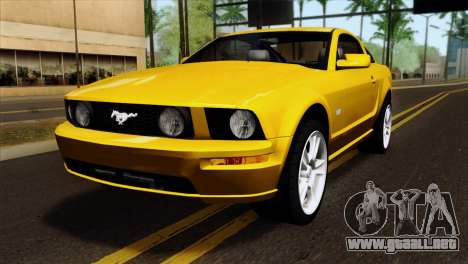 Ford Mustang GT Wheels 1 para GTA San Andreas