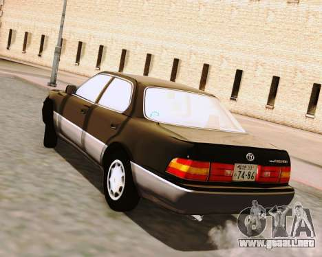Toyota Celsior para GTA San Andreas left