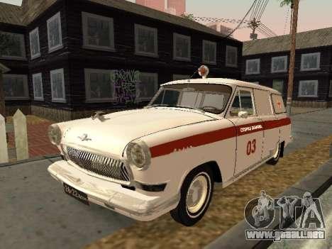 GAS 22 de ambulancia para GTA San Andreas