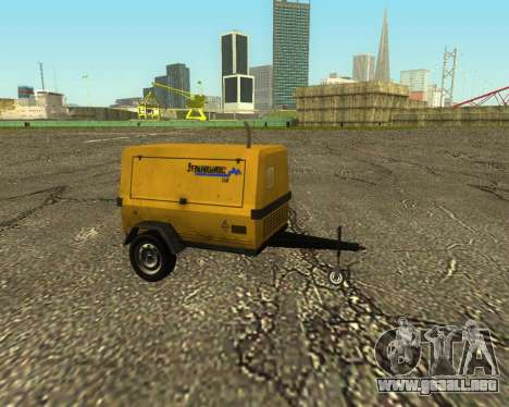 Multi Utility Trailer 3 in 1 para GTA San Andreas