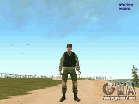 Guerrero batallón Fantasma para GTA San Andreas