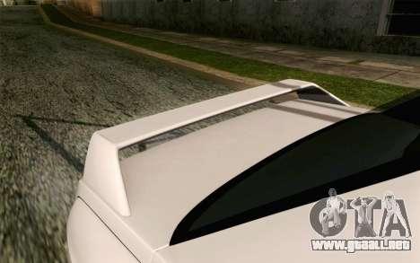 BMW M3 E30 2015 para GTA San Andreas vista hacia atrás