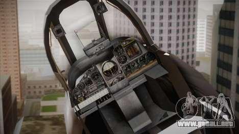 A-10A The Idolmaster -SP- para GTA San Andreas vista hacia atrás