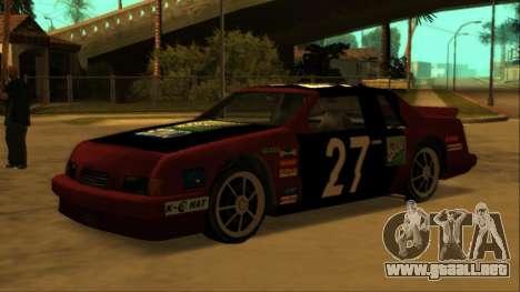Beta Hotring Racer para GTA San Andreas interior