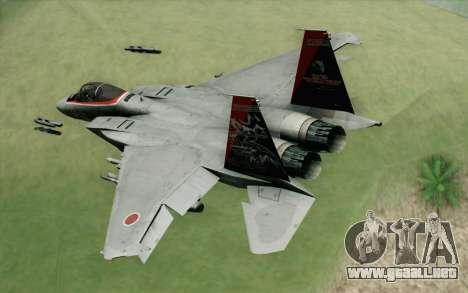 F-15J Kai 60th Anniversary of JASDF para GTA San Andreas left