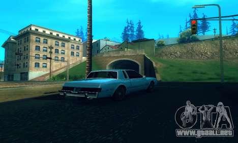 ENB Series para baja y Media de la PC para GTA San Andreas segunda pantalla