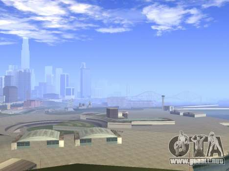 Beautiful Timecyc para GTA San Andreas tercera pantalla