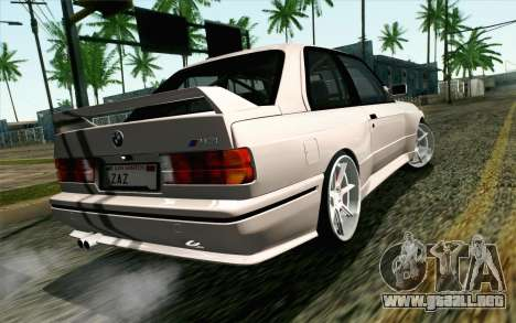 BMW M3 E30 2015 para GTA San Andreas left