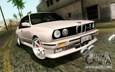 BMW M3 E30 2015 para GTA San Andreas