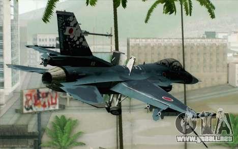 F-2A Viper 60th Anniversary of JASDF para GTA San Andreas left