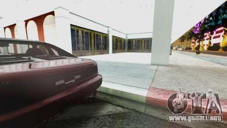 Toyota MR2 para GTA San Andreas vista hacia atrás
