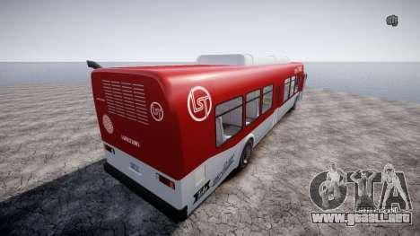 GTA 5 Bus v2 para GTA 4 visión correcta