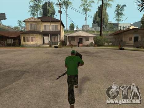CABLE de Battlefield 3 para GTA San Andreas sucesivamente de pantalla