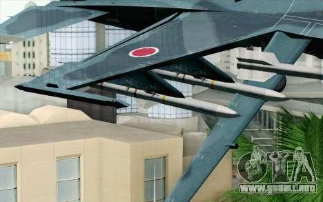 F-2A Viper 60th Anniversary of JASDF para la visión correcta GTA San Andreas