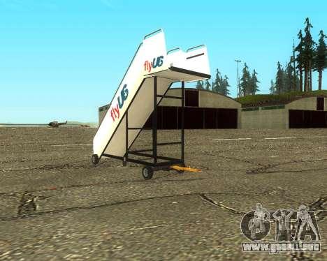 New Tugstair Fly US para GTA San Andreas left