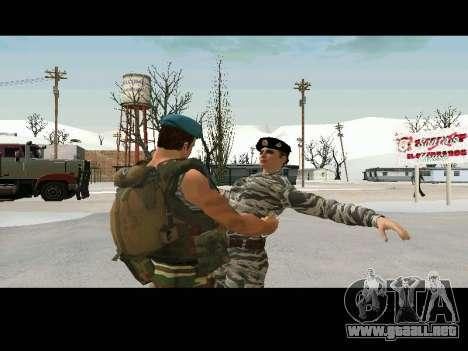 Kira Lebedev para GTA San Andreas quinta pantalla