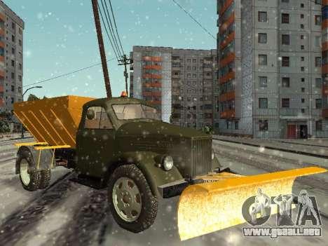 GAS 51 sopladora de nieve para GTA San Andreas