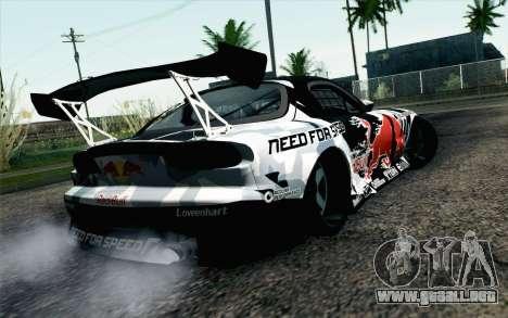 Mazda RX-7 MadMike para GTA San Andreas left