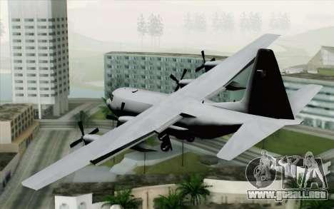 C-130H Hercules Polish Air Force para GTA San Andreas left