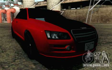 GTA 5 Karin Kuruma v2 para GTA San Andreas