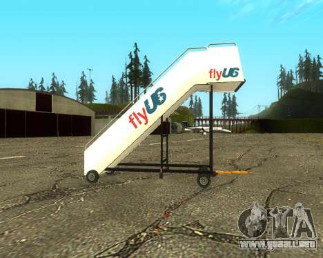 New Tugstair Fly US para GTA San Andreas