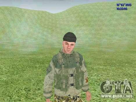 Soldado del batallón de la División para GTA San Andreas tercera pantalla