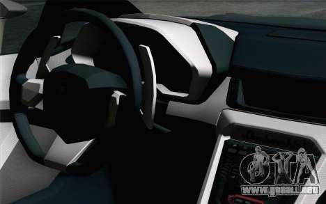 NFS Rivals Lamborghini Veneno para la visión correcta GTA San Andreas