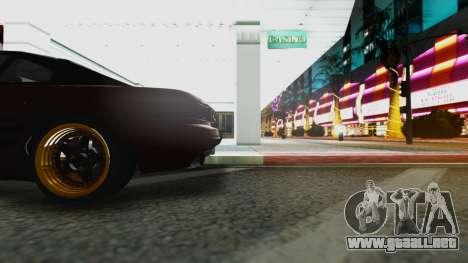 Toyota MR2 para la visión correcta GTA San Andreas